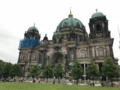 The Berlin Cathedral! Alas, I did not go in. Much regret.