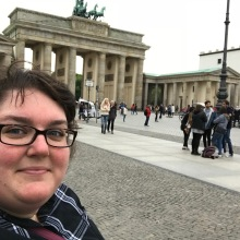 Me and the Brandenburg gate