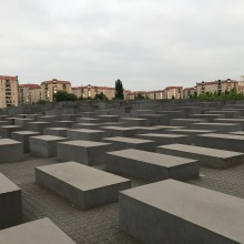 The Memorial to the Murdered Jews of Europe. It was super impactful.